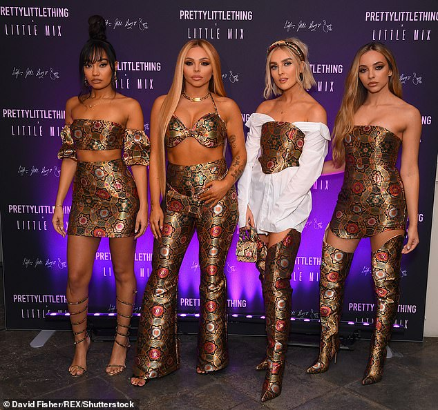 Nine months: Jesy's new track will arrive nine months after she left Little Mix and is said to be 'more upbeat than some might be expecting' (pictured in 2019)