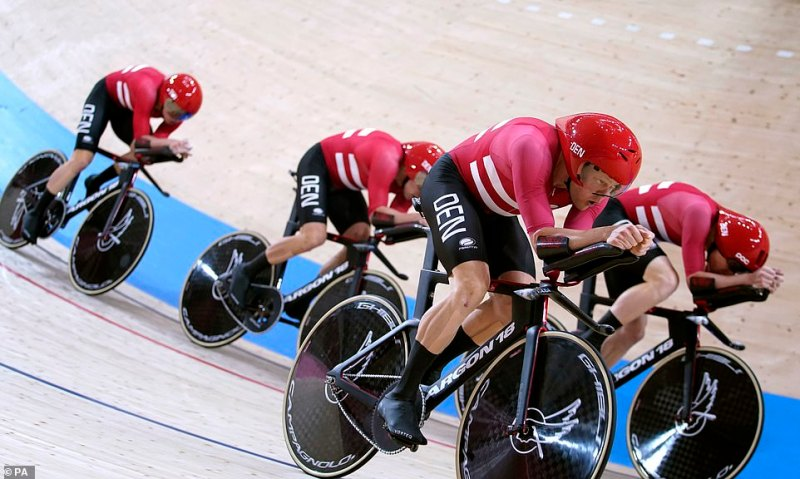 GB appealed about Denmark's kit overnight and the UCI agreed it breached regulations. However, they gave the Danes a warning rather than disqualifying them