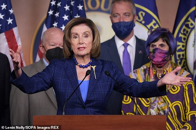 Speaker Nancy Pelosi ruled out bringing back Congress to do something about the eviction moratorium and pushed the Biden administration to use its executive powe