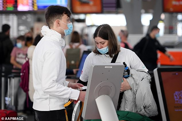 The federal government are pushing through with a QR-code vaccination passport for international travel in the future as part of the long term plan to re-opening borders