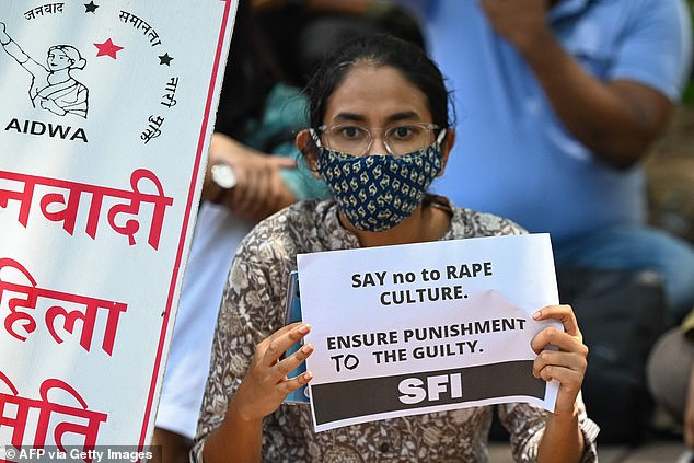 The alleged rape and murder of a nine-year-old girl in New Delhi has been branded a caste crime by members of her community, sparking four days of protests