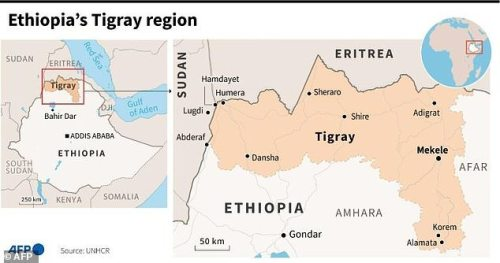 Tigray has been riven by conflict for nine months