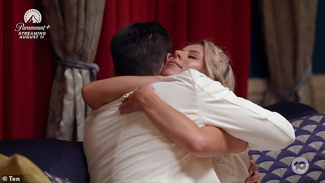Everywhere: Jimmy told Ashleigh they were missing that all-important spark, before a limo pulled up and chased her out of The Bachelor mansion