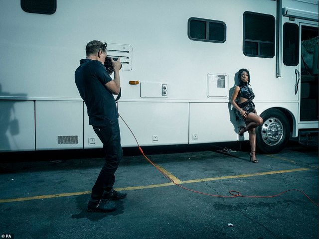 Coming soon:Pirelli did not publish its Calendar in 2021 due to the Covid pandemic, but its 2022 edition will be officially presenter later this year (Normani is pictured)