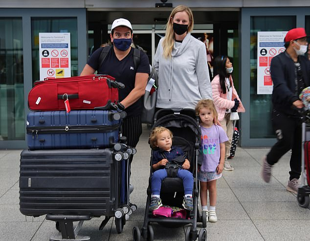 Amy Perez, 39, a marketing director from Putney, south west London, has been travelling around Mexico with her family