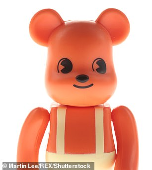 He also reportedly bought16 collectible dolls by Bearbrick - which can range from hundreds to thousands of dollars per doll