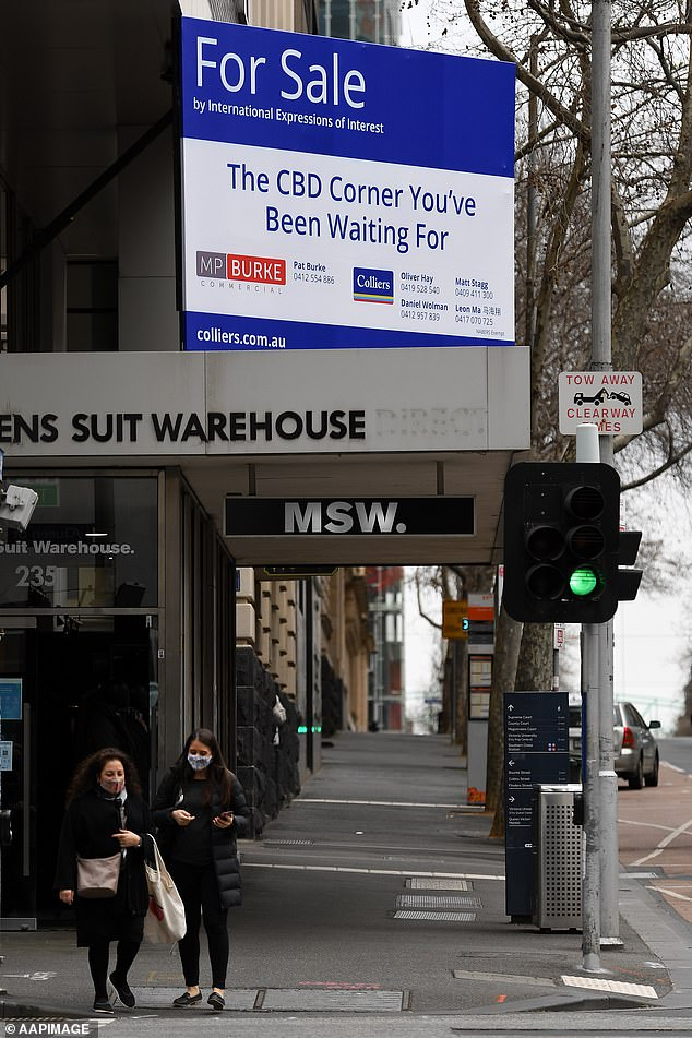 State premier Daniel Andrews announced the stay-at-home orders would begin at 8pm on Thursday and last for seven days