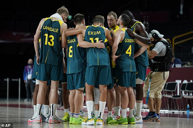 The Boomers will now fight for bronze against Slovenia at 9pm on Saturday night in Tokyo