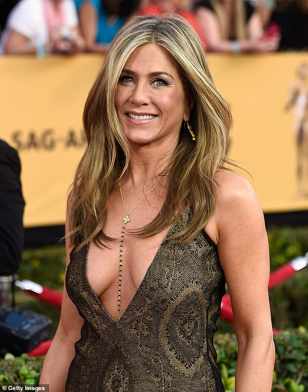 The duchess said Wolfie, son of Princess Beatrice's husband Edoardo Mapelli Mozzi, saw her as the 'Jennifer Aniston (pictured) of his life' owing to her Story Time With Fergie And Friends videos [File photo]