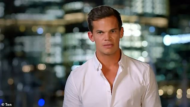 Time to go:Australians have declared The Bachelor is 'over' after the Channel 10 dating show spectacularly flopped in the ratings. Pictured: new suitor Jimmy Nicholson