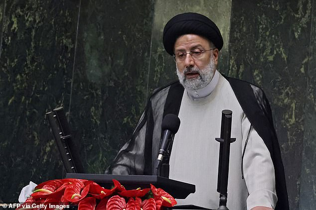 Gantz's warning came just hours before Iran inaugurated its new president, hardliner Ebrahim Raisi, whose election is likely to stall nuclear negotiations with the west