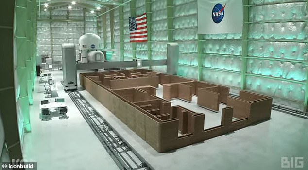 The habitats will be constructed at NASA's Johnson Space Center in Houston, Texas, and will include workstations, medical facilities and a place to grow food.