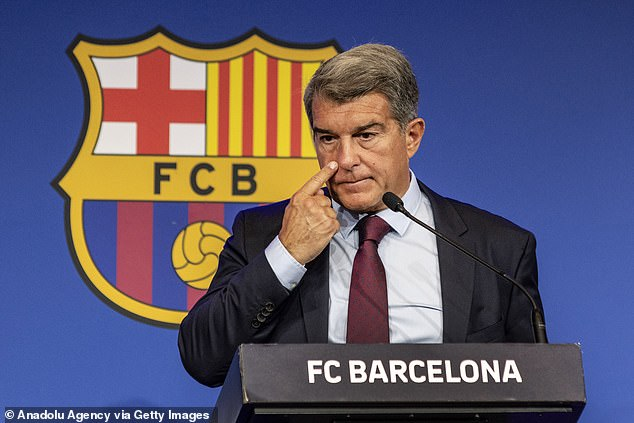 Barcelona president Joan Laporta announced Messi would be leaving on Thursday evening