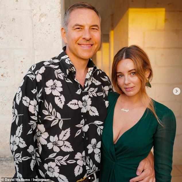 New couple?It comes after earlier on Monday David shared two loved-up snaps with Keeley from their recent holiday together, after her brief romance with Jason Sudeikis