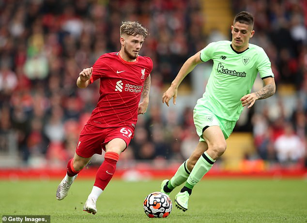 Harvey Elliott impressed against Athletic Bilbao and was aplauded off the pitch in the second-half