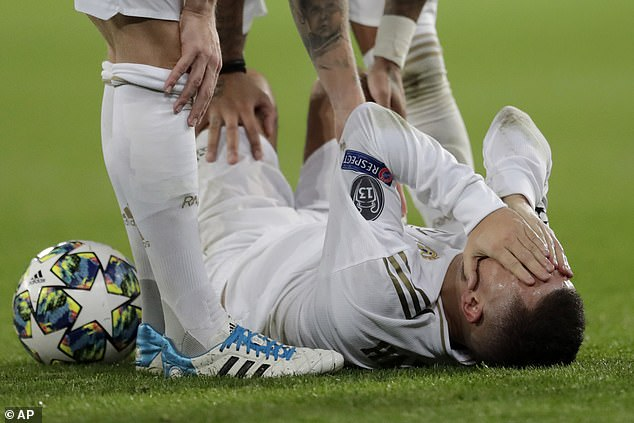 Eden Hazard also made a mega-money move to Madrid - but he has been blighted by injuries