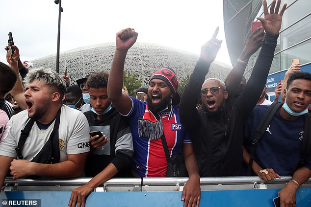 Fans prepare to welcome Messi to Paris Saint-Germain with the Argentine's arrival imminent
