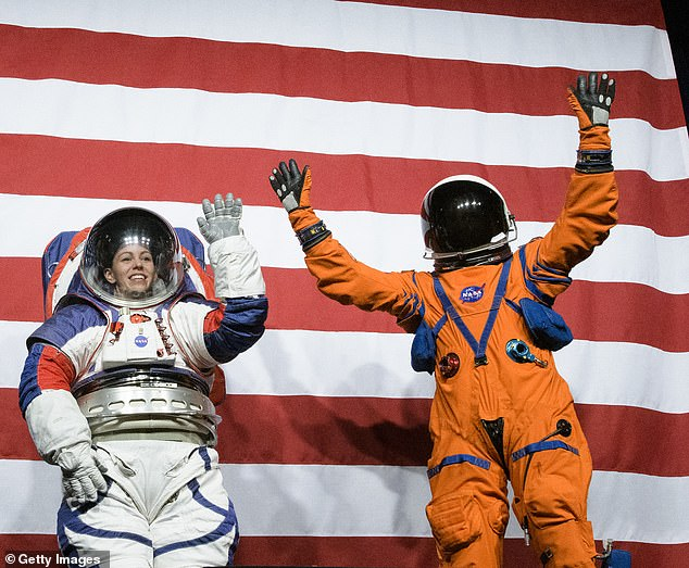 The American space agency is looking to develop two types of spacesuits: : intravehicular suits, which are worn inside a spacecraft, and extravehicular suits, which are worn for exploring outside of a spacecraft