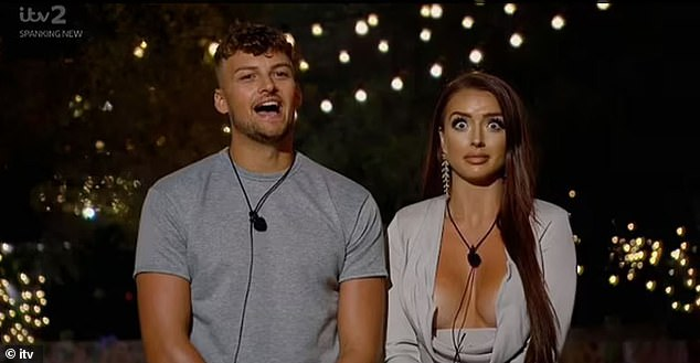Oh dear! The pair were coupled up when they were dumped from the Island, and in a post-dumping chat Hugo branded his journey 'tragic' prompting Amy to pull a face