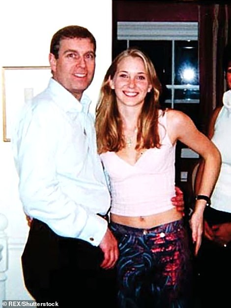 Senior royals have privately expressed concern over the handling of Prince Andrew's latest legal crisis as it emerged it could overshadow the Queen's historic Platinum Jubilee. Pictured: Prince Andrew alongside Virginia Roberts and Ghislaine Maxwell