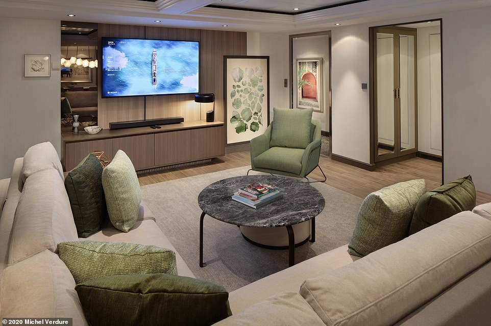 'The 'revolutionised' Celebrity Silhouette cruise ship is fresh from a £55 million refurbishment