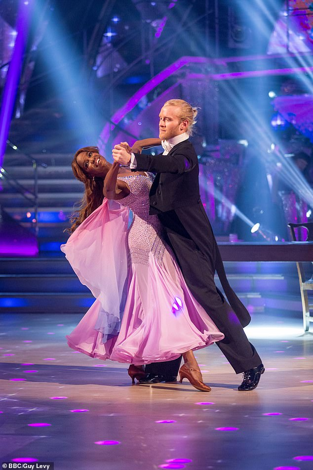 Groundbreaking: Jonnie Peacock was the first visibly disabled person to compete on Strictly in 2017