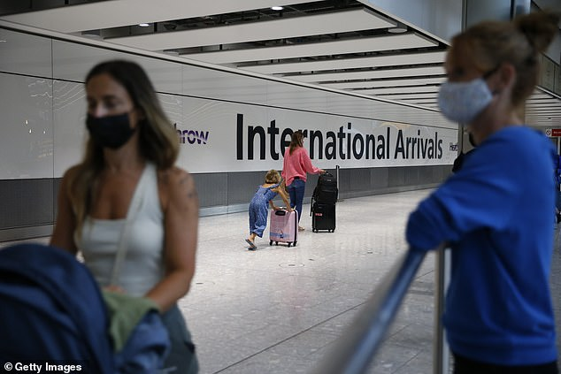 The Competition and Markets Authority said it was working on imminent 'interim' measures to ensure families can get a well-earned foreign break or reunite with loved ones abroad [Stock image]