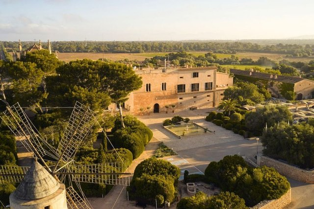 The hotel 'mesmerises with tranquil courtyards, charming service, a pool or two and luxurious, serene bedrooms', says Ted. It occupies buildings once owned by the landed gentry dating back to the 14th century