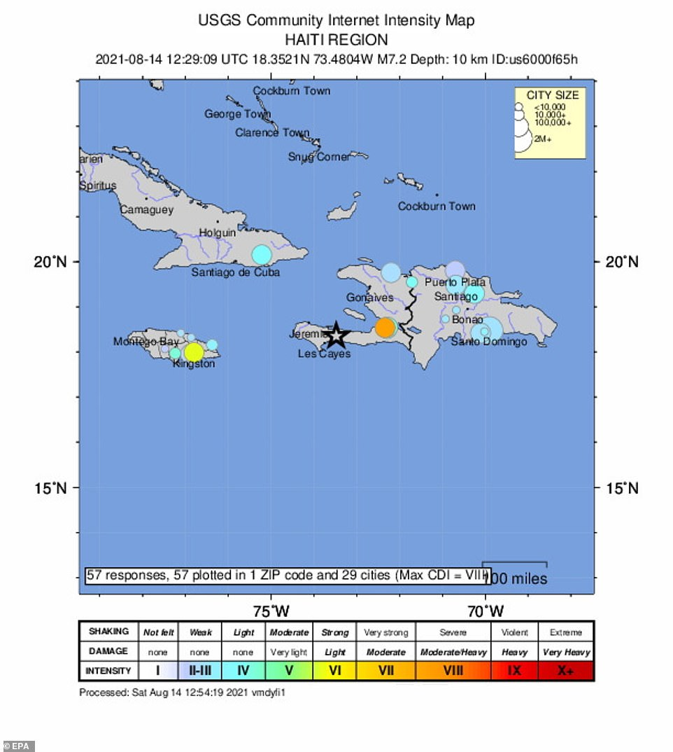 The US Tsunami Warning System has not issued a tsunami warning after the quake