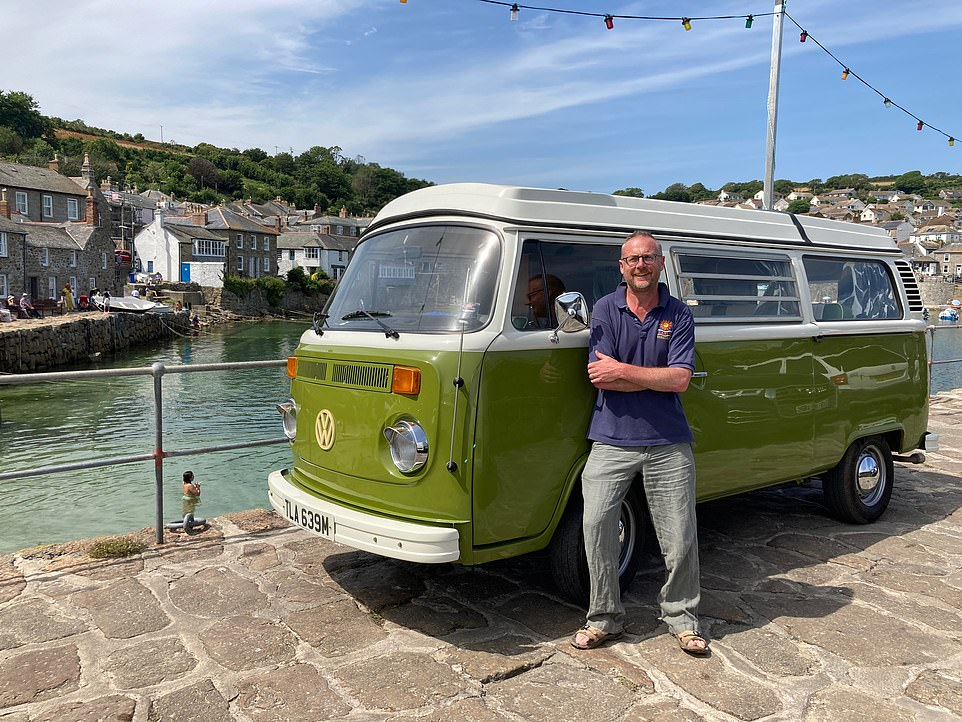 'Pootling along at little more than 40mph, you feel king of the road,' writes The Mail on Sunday's Toby Walne (pictured above)