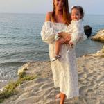 Pregnant Millie Mackintosh looks stunning as she matches her outfit with daughter Sienna in Greece 💥👩💥