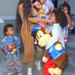 Kim Kardashian welcomes her children and nieces to screening of her new animated movie Paw Patrol💥👩💥💥👩💥