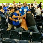 Massive brawl erupts in the stands at NFL game between Los Angeles rivals the Chargers and the Rams 💥👩💥