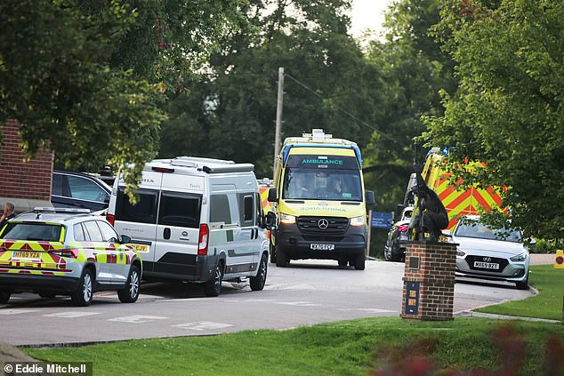 South East Coast Ambulance Service (SECAMB) confirmed it had sent several vehicles to a road traffic collision in College Road, Ardingly, this afternoon at around 4.30pm. Pictured: General view of College Road