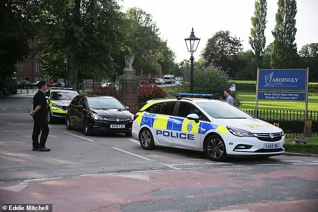 The Argus reported the child was trapped under what is believed to be a Tesla during the incident