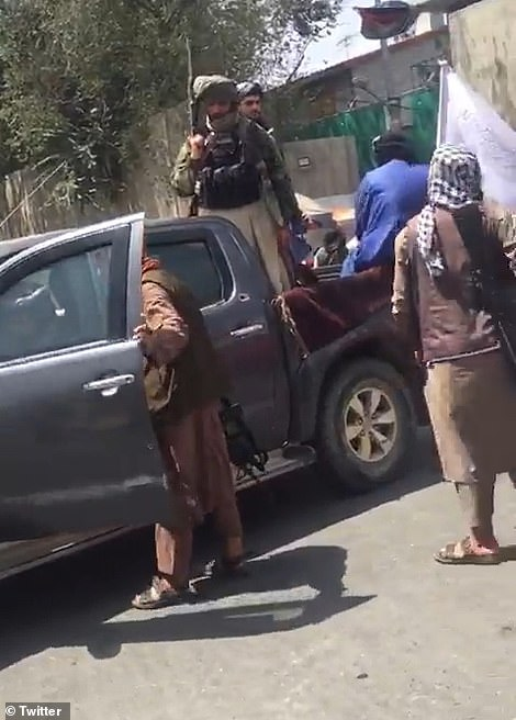 Rather than arresting or beating the protestors, the senior Taliban commander present tried to reassure them by telling them: 'Don't worry, your rights will be respected. You will be allowed to work and study'