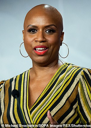 Massachusetts Rep Ayanna Pressley (pictured) disclosed between $5,000 and $15,000 in rental income from a property in her husband's name