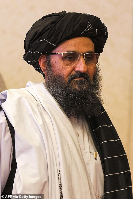 Baradar (pictured) set up an Islamic school in Kandahar with his former commander Mohammed Omar, and the two mullahs helped to found the Taliban movement