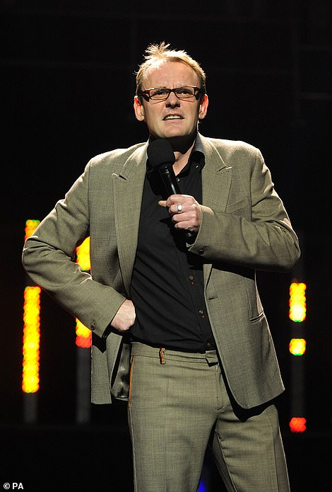 Sean Lock is pictured performing during Amnesty International's Secret Policeman's Ball 2008 at the Royal Albert Hall in October 2008