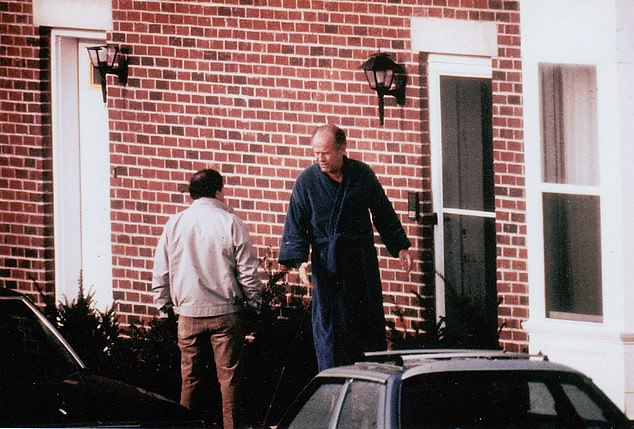 FBI surveillance footage of Flemmi and James 'Whitey' Bulger. Once on the FBI's Most Wanted List, Bulger and Flemmi were partners. Flemmi eventually testified against him at trial in 2013