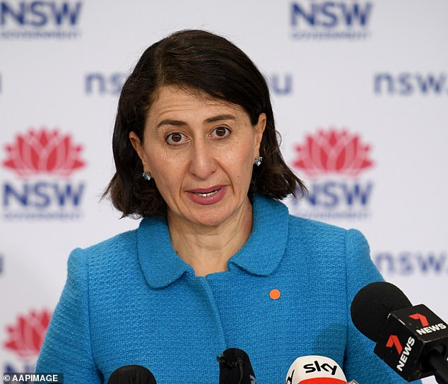 Ms Berejiklian tracked down Ms Waterhouse to thank her for the flowers, adding that she hoped the lawyer wouldn't need the single's bubble for too long