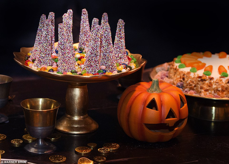 Pierre Bohanna and his team designed the spectacular Halloween feast that will be displayed in the Great Hall