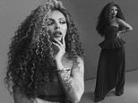 Jesy Nelson teases fans with a photoshoot as she 'makes it her mission to crack the US'