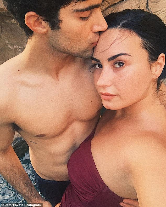 Ex files:The birthday activity comes as Demi recently weighed in again on their breakup with actor Max Ehrich from last year