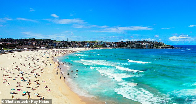 Tanni's favourite Paralympic city is sunny Sydney. She says a must for visitors is a trip to Bondi Beach (pictured)