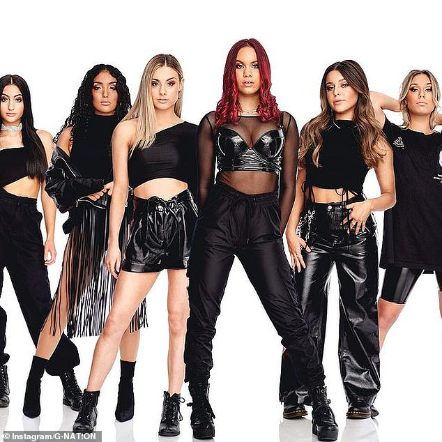 Girl power: This season of The Voice promises to deliver a fantastic girl group, called G-Nat!on.The six girls who hail from Adelaide are set to make history as they're the largest group to ever audition for The Voice Australia. Pictured, (Left to right) Alessia ,Mateja, Rylee, Isla, Emma, and Taylah