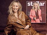 Rebecca Gibney, 56, reveals she feels better than ever after going throughmenopause