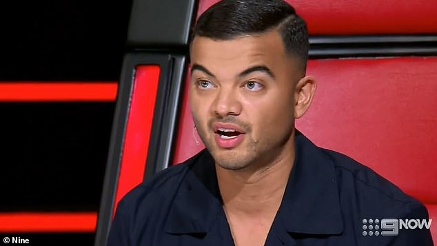 Surprise confession: Sebastian raised eyebrows last week when he admitted producers tell the coaches when to turn their chairs during the blind auditions - a revelation that sent readers into a tailspin