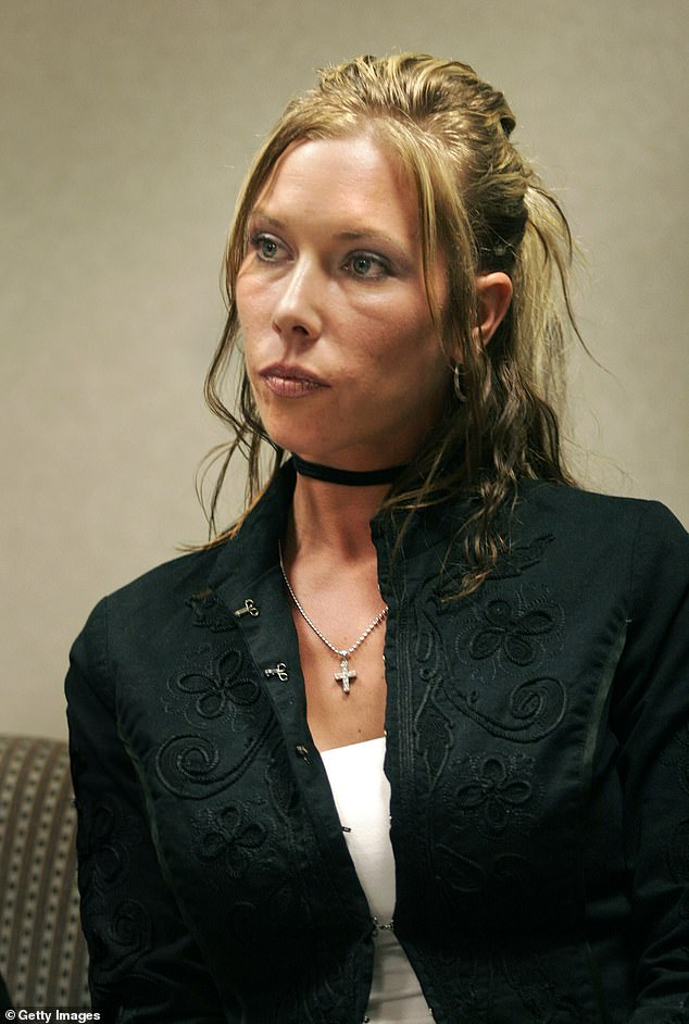 Parents: Eminem, born Marshall Mathers, shares Hailey with his ex-wife Kimberly Scott (pictured in 2007)