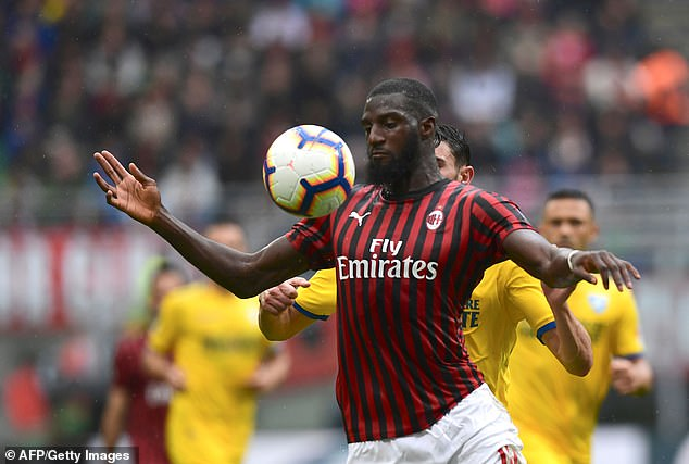 Bakayoko's second loan move to Milan will reportedly include an option to buy the midfielder